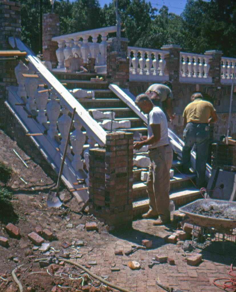 Constructing The Grand Fountains