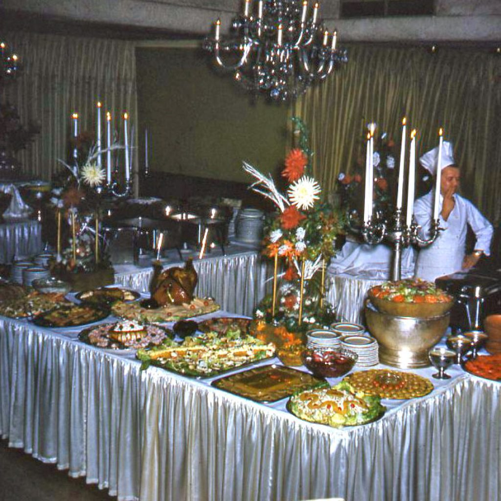 Early Years of The Manor Buffet